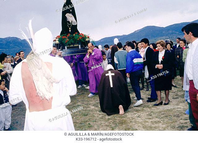 'Los Picaos', Holy Week. San Vicente de la Sonsierra. La Rioja. Spain