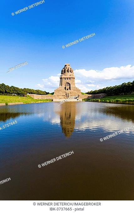 Monument to the Battle of the Nations, Voelkerschlachtdenkmal, Leipzig, Saxony, Germany