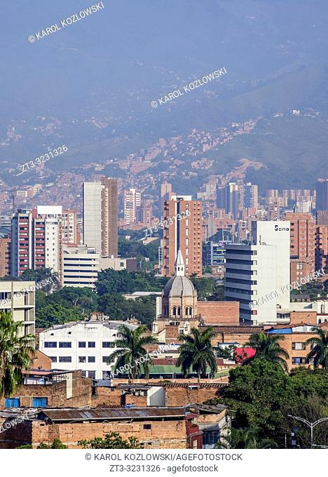 Medellin Skyline, Antioquia Department, Colombia