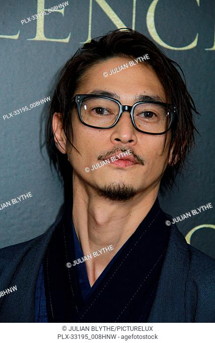"Yosuke Kubozuka 1/5/2017 The Los Angeles Premiere of """"Silence"""" at the Directors Guild of America in Los Angeles, CA Photo by Julian Blythe / HNW / PictureLux"