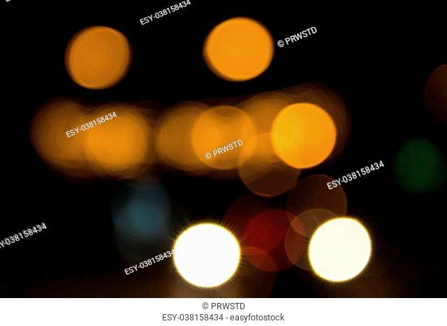 Defocused Lights at Street