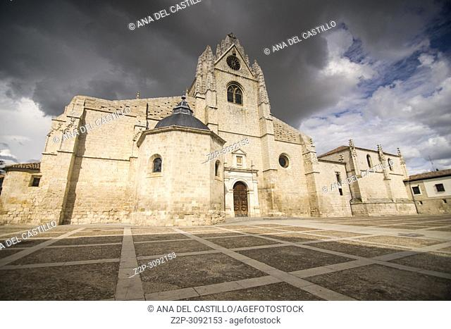 St Antolin Cathedral in Palencia Castile and Leon Spain