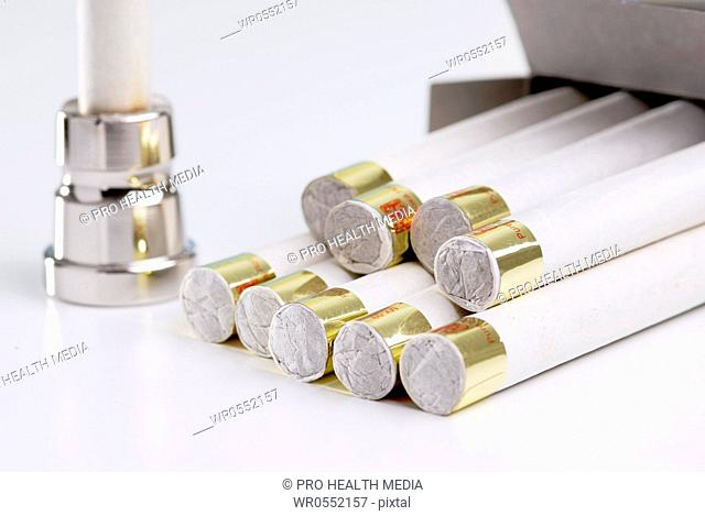 Moxibustion - cigars
