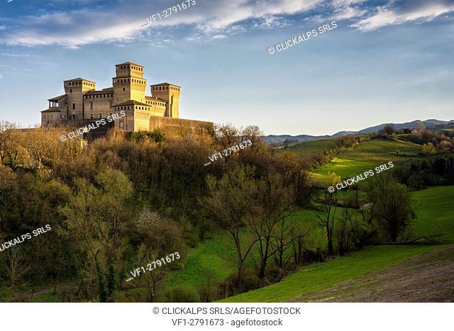 Castle Torrechiara, Langhirano - Emilia Romagna,Italy