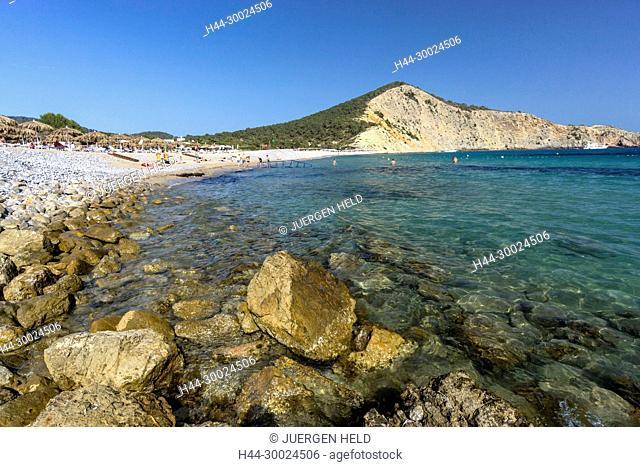 Cala Jondal Beach, Eivissa, Spain, Baleraric Islands