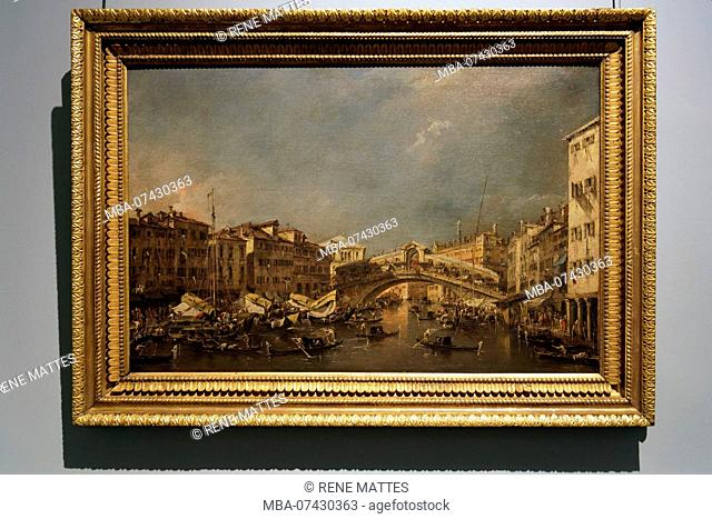 France, Haute Garonne, Toulouse, Augustins museum in the former Augustins convent, White hall, Paintings of the 17th and 18th century