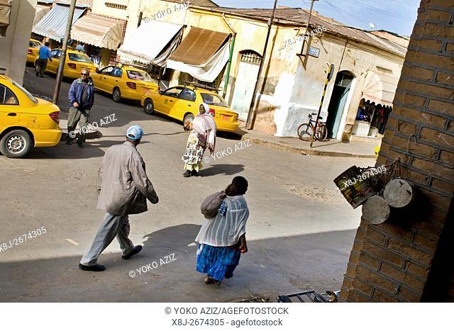 Daily life, Asmara, Eritrea