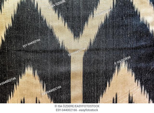 Handmade woven rug and tapestry,vintage carpets on a Turkish bazaar. Traditional Turkey rugs in Egypt Bazaar Turkey