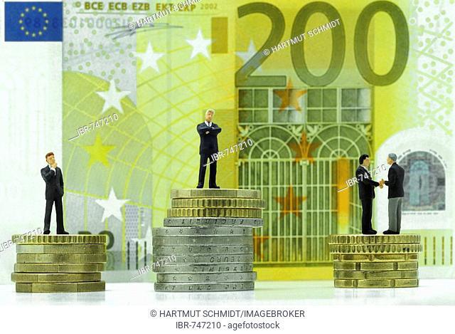 Closed deal, profit maximization (Euros)