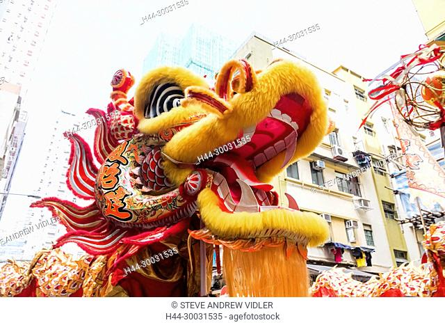 China, Hong Kong, Chinese Dragon