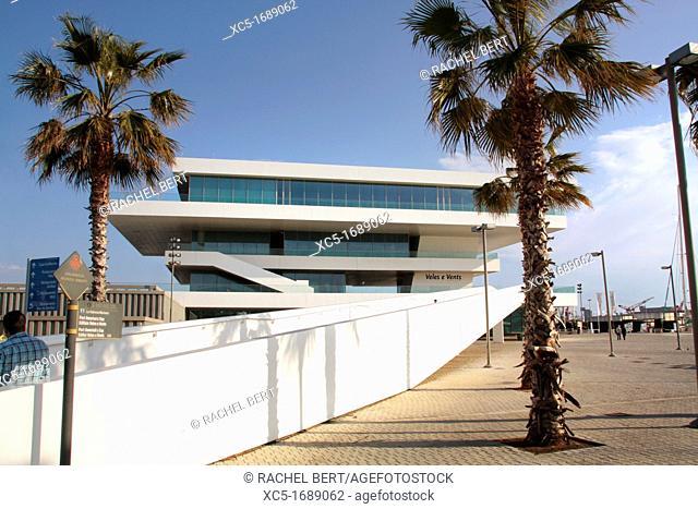 Veles E Vents / America's Cup Building, City Port America's Cup, Valencia, Comunitat Valenciana, Spain, Europe