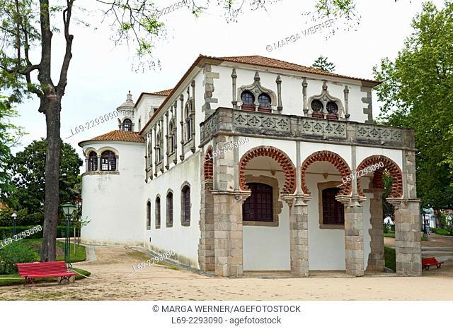 Palacio de Dom Manuel, Public Garden, Evora, Alentejo, Portugal, Europe