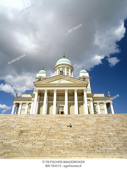 Helsinki Cathedral, Protestant church, Carl Ludwig Engel, Senate Square, Helsinki, Finland