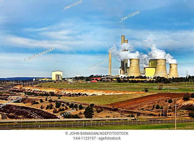 Power station,brown coal,Loy Yang , Yallourn,Victoria,Australia