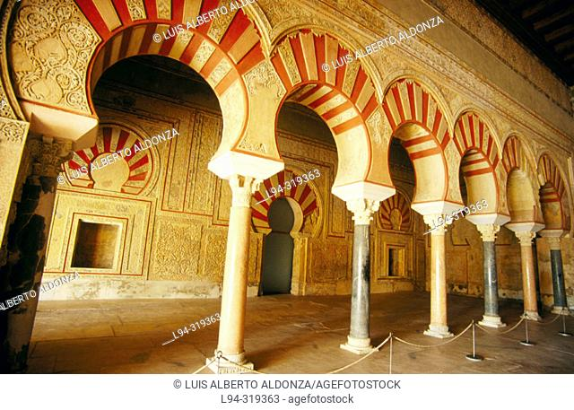 Ruins of Medina Azahara, palace built by caliph Abd Al-Rahman III. Cordoba. Andalusia. Spain