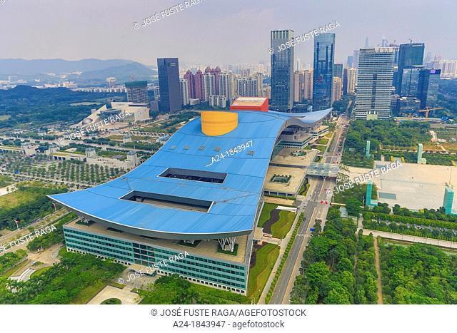 China , Shenzhen City,Downtown , Civic Center