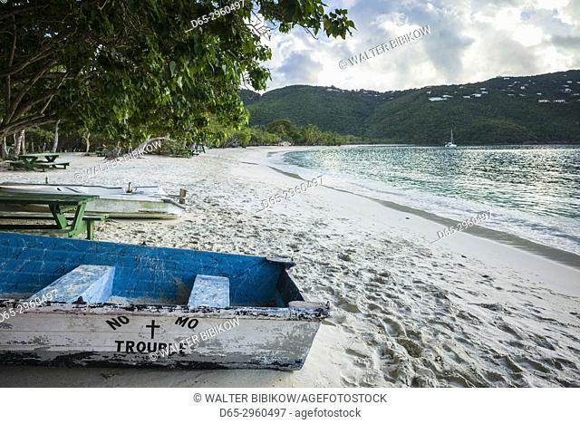 U. S. Virgin Islands, St. Thomas, Magens Bay, Magens Bay Beach, boats