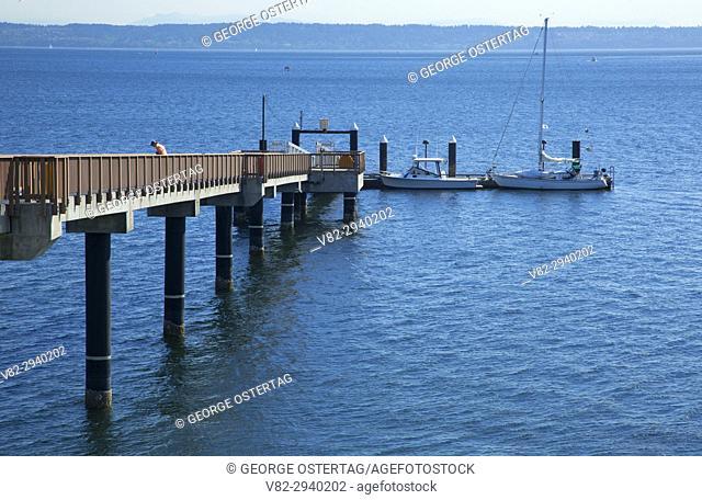 Suquamish Dock, Port Madison Indian Reservation, Suquamish, Washington
