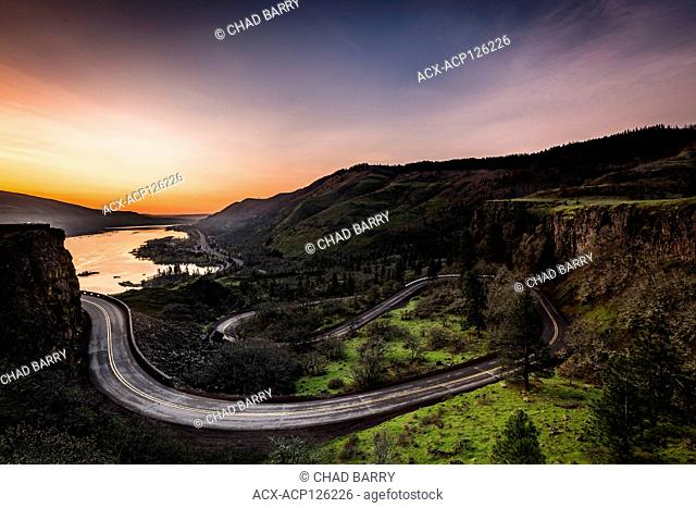Rowena Crest, Columbian River Gorge, Oregon, United States