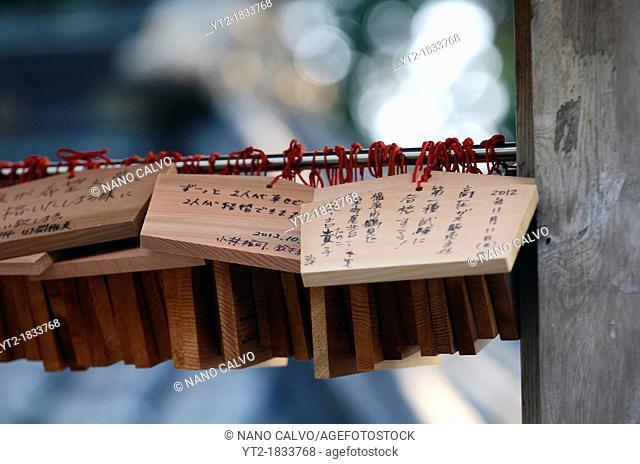 Ema wooden prayers, Nikko Toshogu Shrine