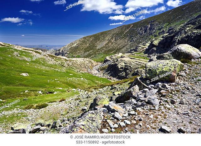 Galin Gómez Gorge in Sierra de Gredos Castilla León Spain