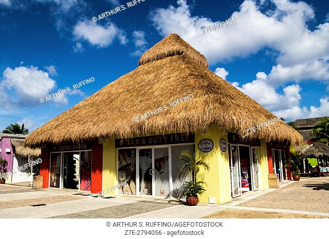 Cruise port terminal, Cozumel Island, State of Quintana Roo, Mexico