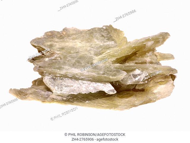 Muscovite Mice - the commonest form of mica (potassium aluminum silicate)