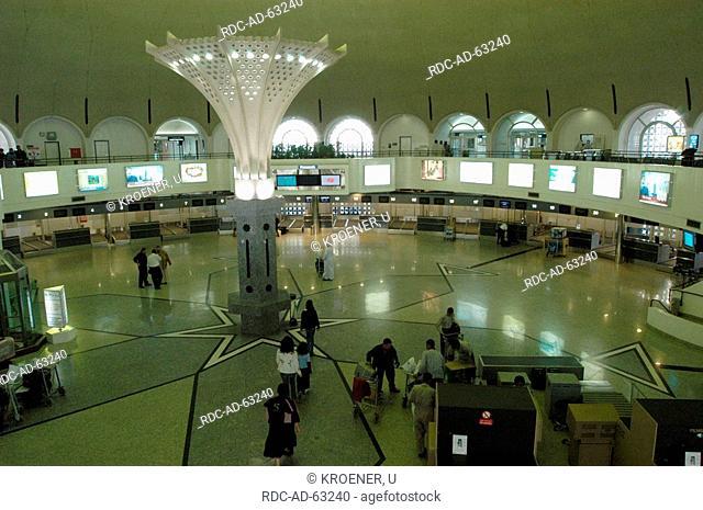 Terminal for departure Sharjah airport Sharjah United Arab Emirates