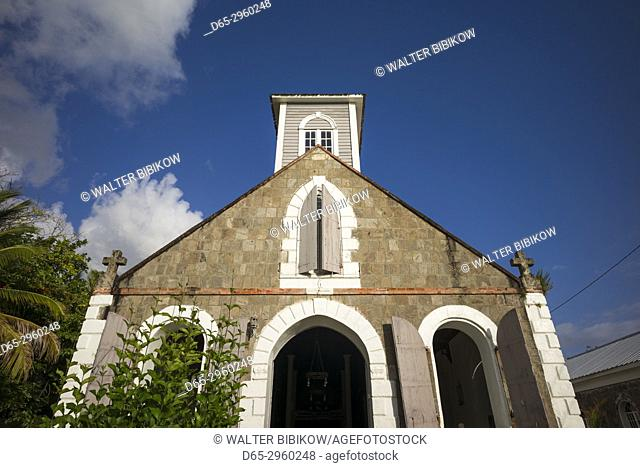St. Kitts and Nevis, Nevis, Charlestown, St. Paul's Anglican Church, exterior