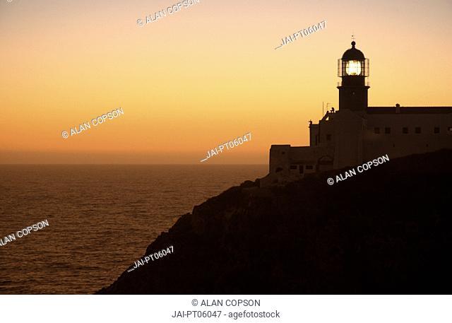 Cabo de Sao Vincente, (Cape St Vincent), Sagres, Algarve, Portugal