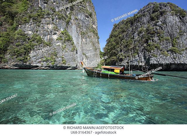 Thailand, Krabi bay, Koh Phi Phi Le, Pileh Lagoon