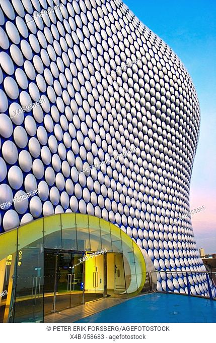 Selfridges exterior Bullring shopping centre Birmingham England UK Europe