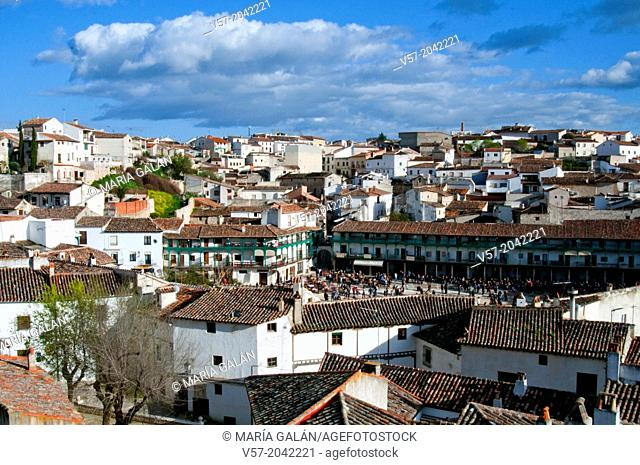 Overview. Chinchon, Madrid province, Spain