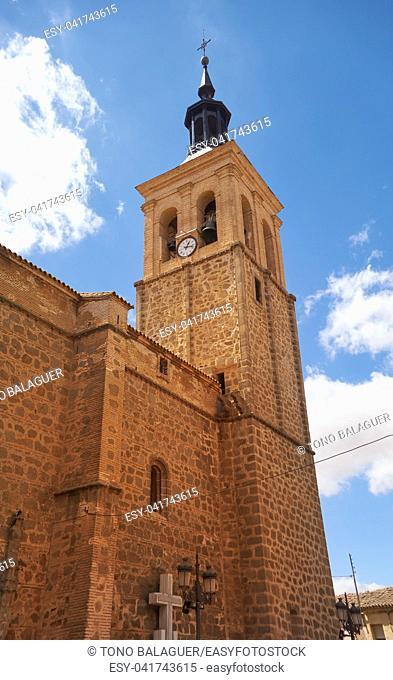 Mora village in Toledo in castile La Mancha of spain by Saint James Way