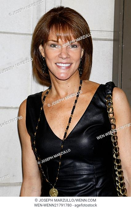 Opening night of The Country House at the Friedman Theatre - Arrivals. Featuring: Carolyn McCormick Where: New York, New York