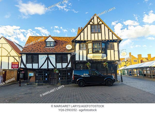 Old streets of York, England, United Kingdom