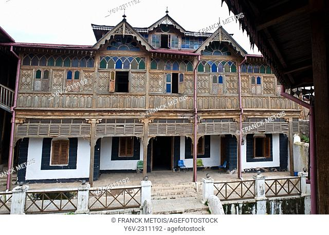 Rimbaud's house, a traditional house now a museum dedicated to the French poet Arthur Rimbaud who lived in the town of Harar in the 1880-1890's