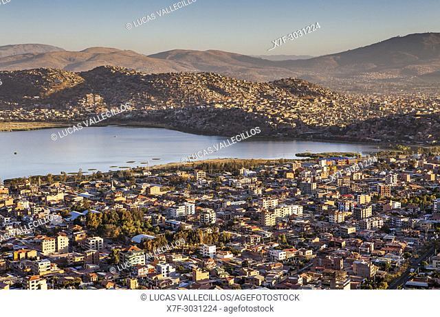 View from the Cristo de la Concordia, Cochabamba, Bolivia