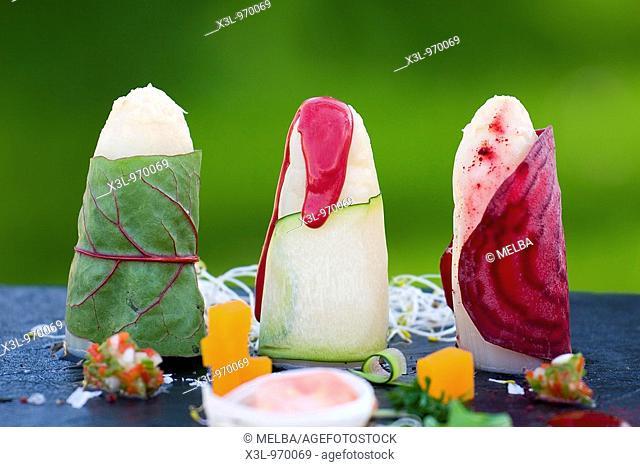Asparagus dish  Navarra  Spain