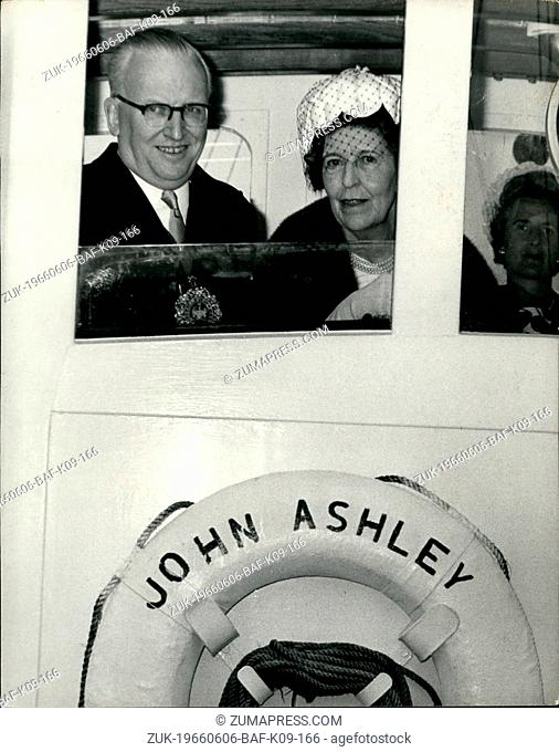 Jun. 06, 1966 - Lord Mayor Visits Floating Church This morning the Lord Mayor, Sir Ralph Perring. paid a visit to the Motor Vessel John Ashley when it means to...