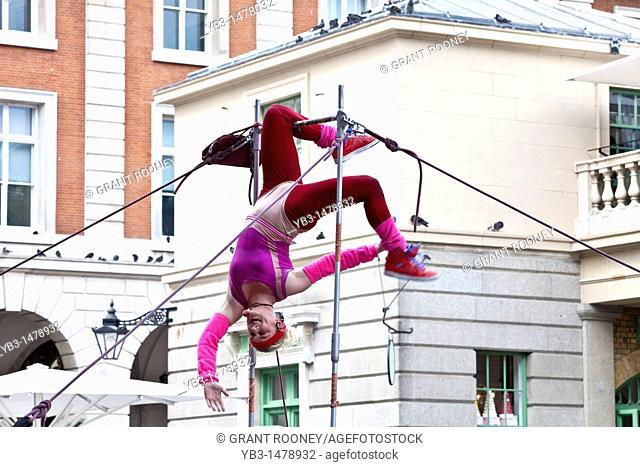 Street Entertainer, Covent Garden, London