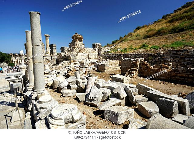Ephesos. Ancient Greece. Asia Minor. Turkey