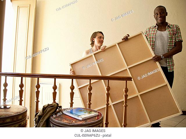 Students moving into accommodation