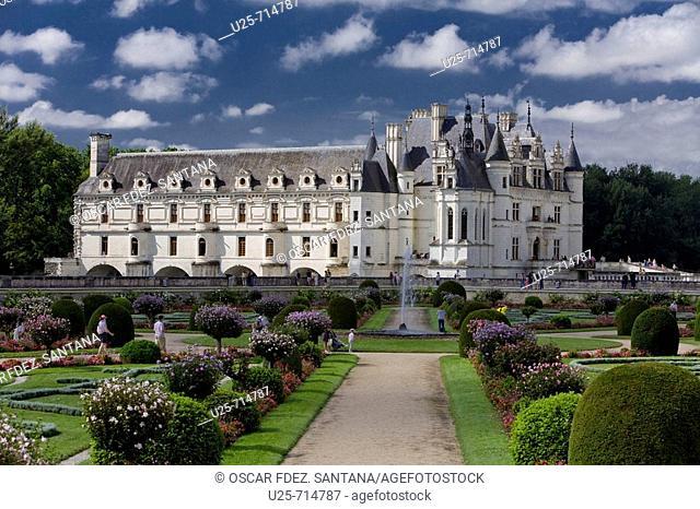 Castle of Chenonceau, France