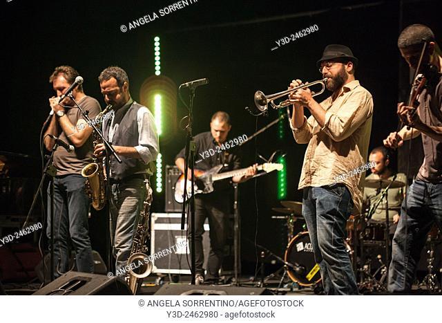 Slivovitz Jazz Band Playing