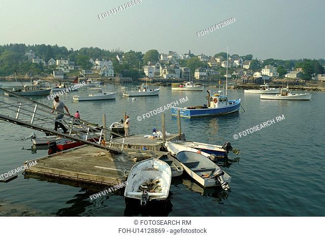 Stonington, ME, Maine, Deer Isle, fishing harbor