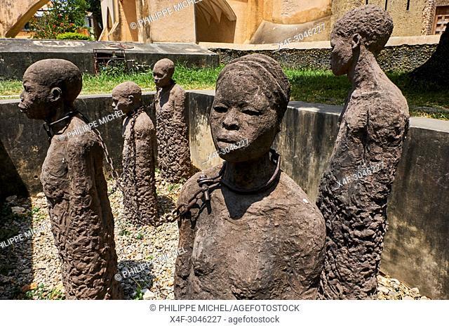 Tanzania, Zanzibar island, Unguja, Stone Town, unesco world heritage, old slaves market