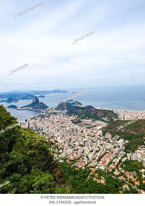 Rio de Janeiro, Corcovado, Pao de Acucar, Brazil