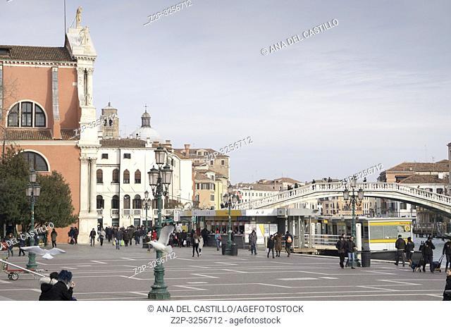 Venice, Veneto, Italy: Chiesa di Santa Maria di Nazareth at Grand Canal