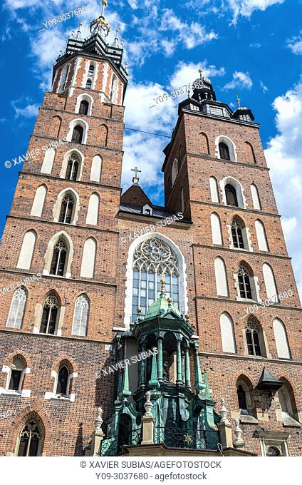 Church of Our Lady Assumed into Heaven, St. Mary's Basilica, Krakow, Poland